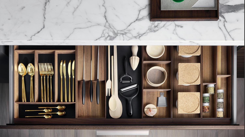Accessori per cassetti accessori e complementi dada for Accessori cucina
