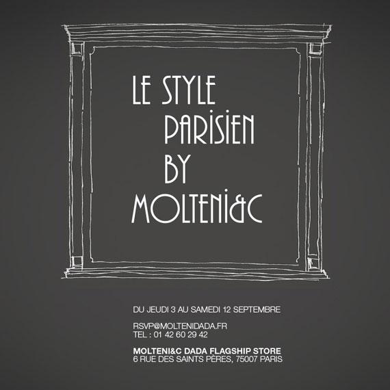 """""""LE STYLE PARISIEN BY MOLTENI&C"""""""