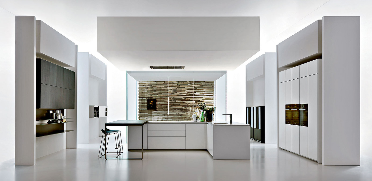 Hi line 6 kitchens dada for Molteni and dada